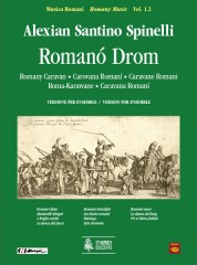 Spinelli, Alexian Santino : Romanó Drom (Romany Caravan) for Accordion, Voice and Ensemble [Score]