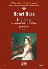 Herz, Henri : Le Joujou. Variations Faciles et Brillantes for Piano