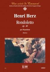 Herz, Henri : Rondoletto Op. 40 for Piano
