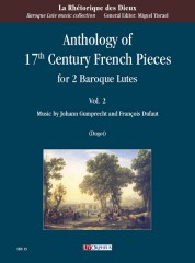 Anthology of 17th Century French Pieces for 2 Baroque Lutes - Vol. 2