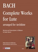 Bach, Johann Sebastian : Complete Works for Lute (BWV 995-1000, 1006a) arranged for Archlute