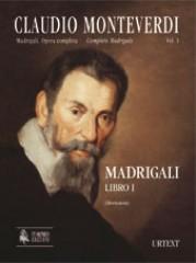 Monteverdi, Claudio : Madrigali. Libro I (Venezia 1587) [original clefs] [Score]