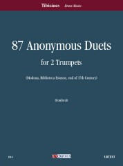 87 Anonymous Duets (Modena, Biblioteca Estense) for 2 Trumpets