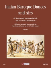 Italian Baroque Dances and Airs. 84 Anonymous Instrumental Solos and Two-Part Compositions (Biblioteca comunale di Montecatini Terme, Fondo Musicale Venturi, ms. B.8 - 17th-18th Century)