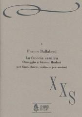 Ballabeni, Franco : La Freccia azzurra. Omaggio a Gianni Rodari for Recorder, Violin and Percussion
