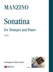 Manzino, Giuseppe : Sonatina for Trumpet and Piano (1961)