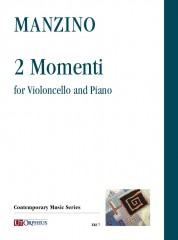 Manzino, Giuseppe : 2 Momenti for Violoncello and Piano