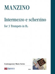 Manzino, Giuseppe : Intermezzo and Scherzino for 3 Trumpets