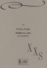 Faglia, Stefano : Siddharta Suite for Piano