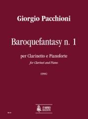 Pacchioni, Giorgio : Baroquefantasy No. 1 for Clarinet and Piano (1996)