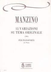Manzino, Giuseppe : Variazioni su tema originale for Piano (1986)