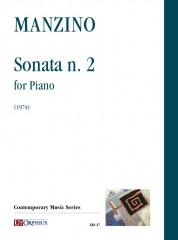 Manzino, Giuseppe : Sonata No. 2 for Piano (1974)