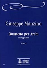 Manzino, Giuseppe : String Quartet (1961)