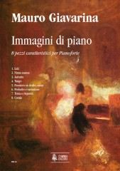 Giavarina, Mauro : Immagini di piano. 8 characteristic pieces for Piano