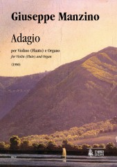 Manzino, Giuseppe : Adagio for Violin (Flute) and Organ (1990)