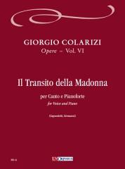 Colarizi, Giorgio : Il Transito della Madonna for Voice and Piano