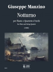 Manzino, Giuseppe : Notturno for Flute and String Quartet (1988)