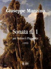 Manzino, Giuseppe : Sonata No. 1 for Violin and Piano (1953)