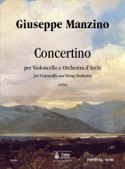 Manzino, Giuseppe : Concertino for Violoncello and String Orchestra (1956) [Score]