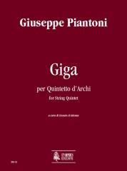 Piantoni, Giuseppe : Giga for String Quintet