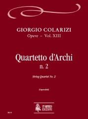 Colarizi, Giorgio : String Quartet No. 2