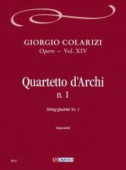 Colarizi, Giorgio : String Quartet No. 1