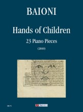 Baioni, Paolo : Hands of Children. 23 Piano Pieces (2010)