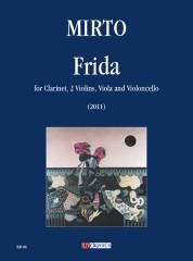 Mirto, Giorgio : Frida for Clarinet, 2 Violins, Viola and Violoncello (2011)