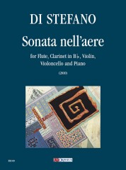 Di Stefano, Salvatore : Sonata nell'aere for Flute, Clarinet in B flat, Violin, Violoncello and Piano (2010)