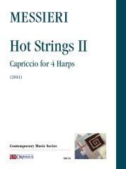Messieri, Massimiliano : Hot Strings II. Capriccio for 4 Harps (2011)