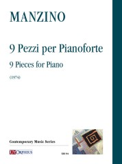 Manzino, Giuseppe : 9 Pieces for Piano (1974)