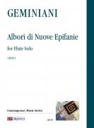 Geminiani, Paolo : Albori di Nuove Epifanie for Flute Solo (2011)
