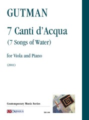 Gutman, Delilah : 7 Songs of Water for Viola and Piano (2011)