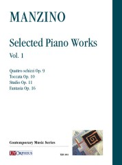 Manzino, Giuseppe : Selected Piano Works - Vol. 1