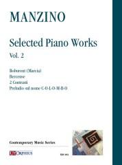 Manzino, Giuseppe : Selected Piano Works - Vol. 2